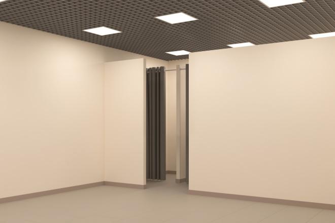 Создание 3д модели помещения по 2д чертежу 3 - kwork.ru