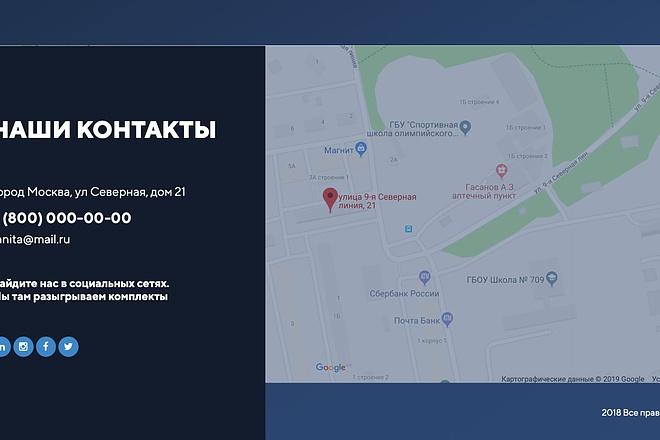 Вёрстка сайтов по доступной цене 172 - kwork.ru