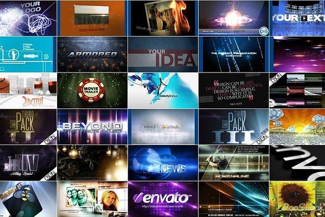 4050 Видео шаблонов для After Effects + Подарок 15 - kwork.ru