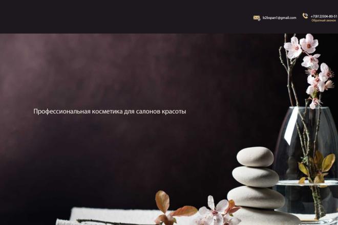 Дизайн страницы сайта в PSD 12 - kwork.ru