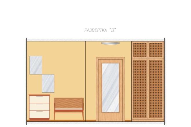 Планировка или пакет рабочих чертежей для проекта интерьера 17 - kwork.ru