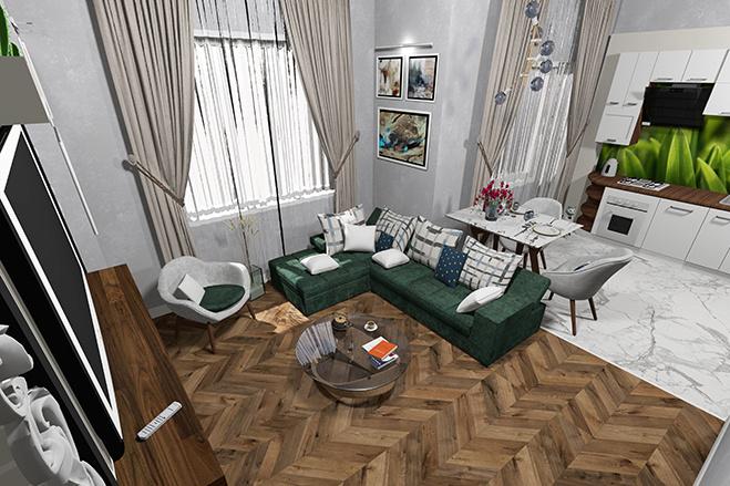 3d визуализация квартир и домов 1 - kwork.ru