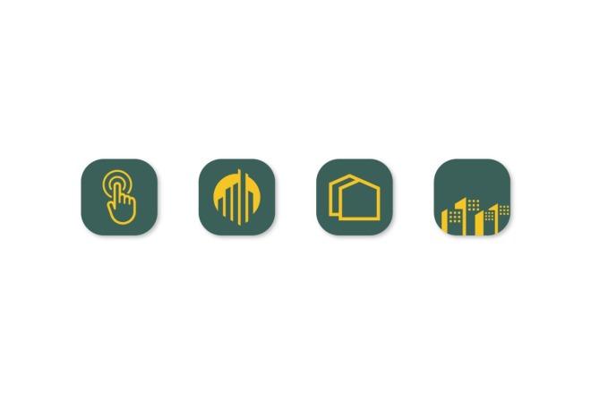 Создам 5 иконок в любом стиле, для лендинга, сайта или приложения 13 - kwork.ru