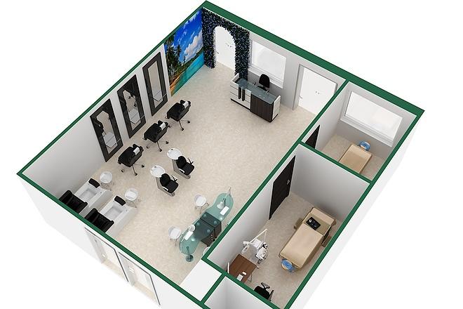 Сделаю 3D визуализацию интерьера 24 - kwork.ru