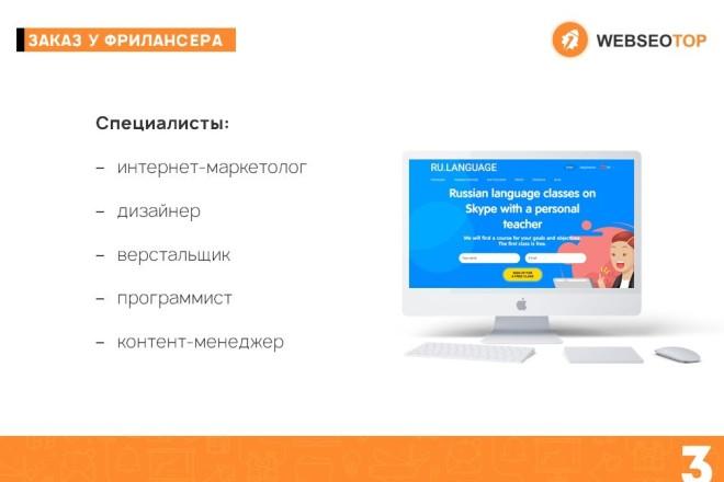 Красиво, стильно и оригинально оформлю презентацию 37 - kwork.ru