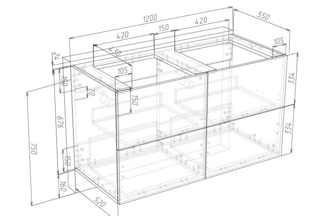 Конструкторская документация для изготовления мебели 56 - kwork.ru