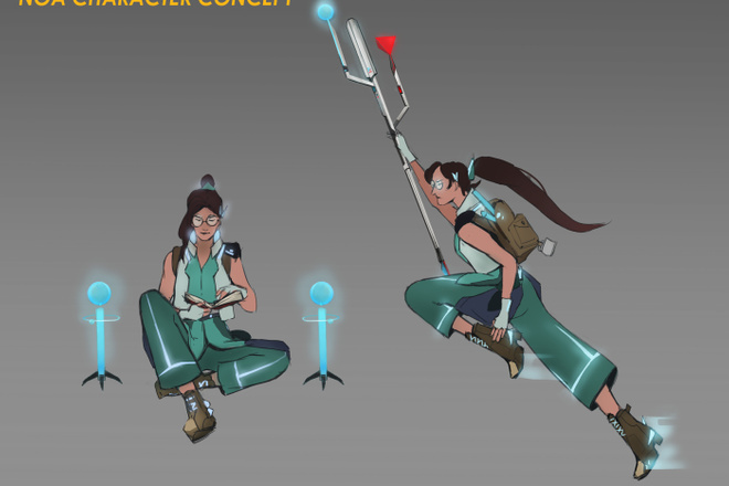 Концепт арт и Дизайн персонажа 15 - kwork.ru