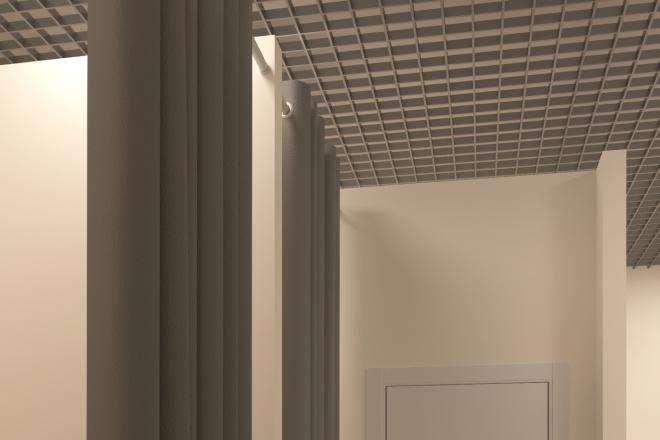 Создание 3д модели помещения по 2д чертежу 4 - kwork.ru