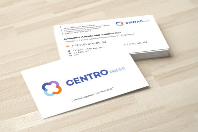 Дизайн визитки с исходниками 12 - kwork.ru