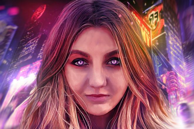Качественный Digital Art Портрет 12 - kwork.ru