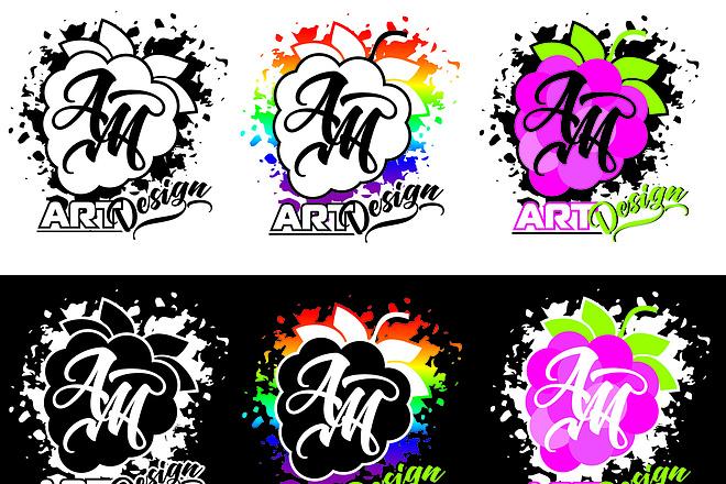Качественный логотип 3 варианта и доработка до полного утверждения 10 - kwork.ru