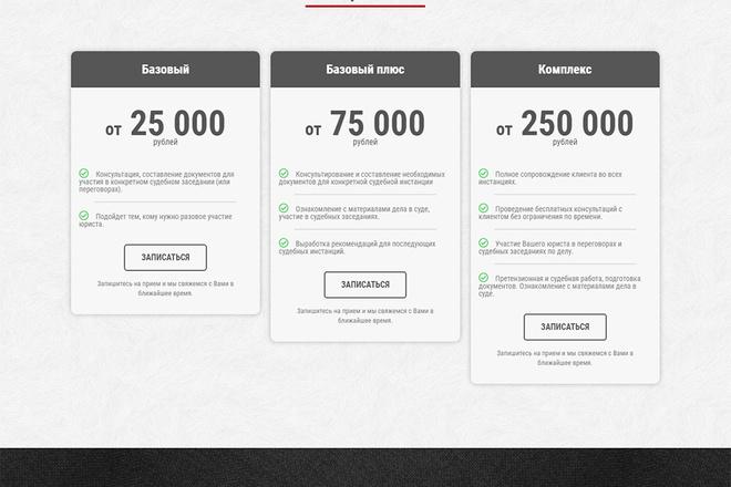 Сайт на WordPress под ключ 3 - kwork.ru