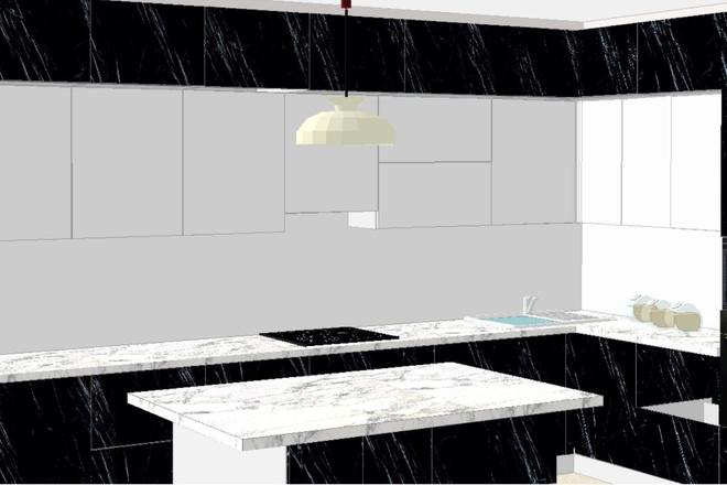 Создам 3D дизайн-проект кухни вашей мечты 1 - kwork.ru