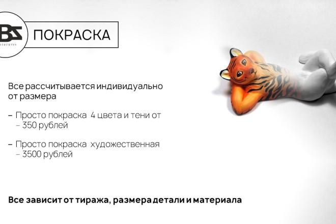 Красиво, стильно и оригинально оформлю презентацию 45 - kwork.ru