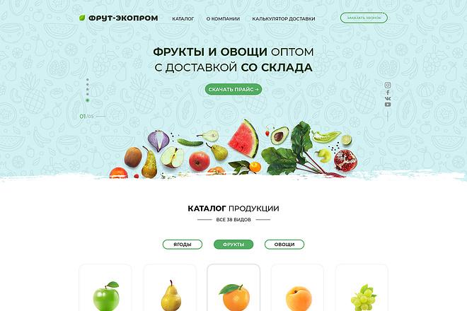 Уникальный лендинг по низкой цене 2 - kwork.ru