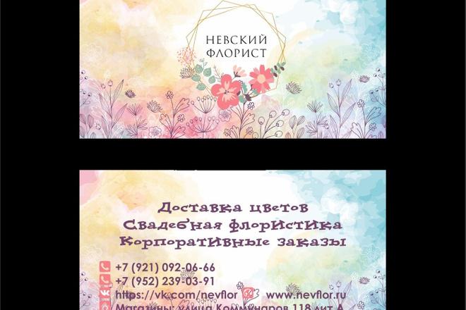 Дизайн визиток 24 - kwork.ru