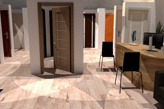 Дизайн придомовой территории в восточном стиле с воротами Тории 8 - kwork.ru