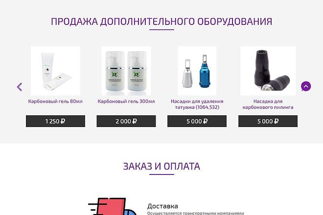 Сайт под ключ. Landing Page. Backend 161 - kwork.ru