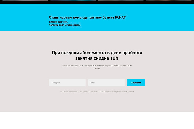 Сделаю продающий Лендинг для Вашего бизнеса 49 - kwork.ru