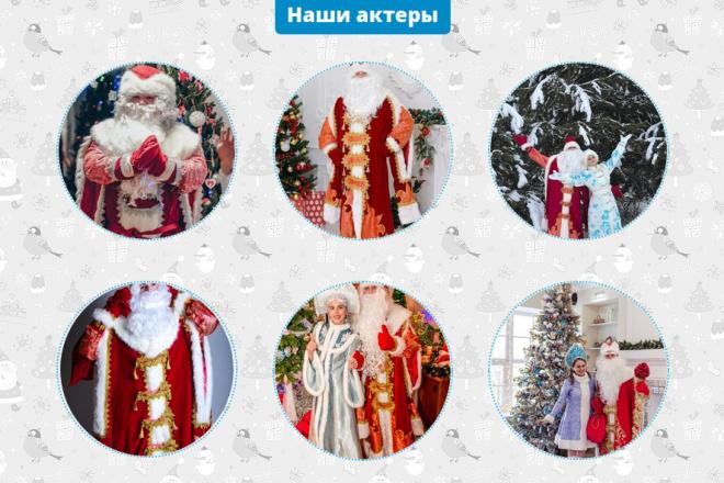 Скопирую страницу любой landing page с установкой панели управления 100 - kwork.ru