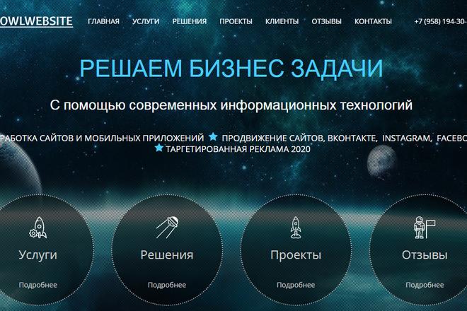 Качественная копия лендинга с установкой панели редактора 27 - kwork.ru