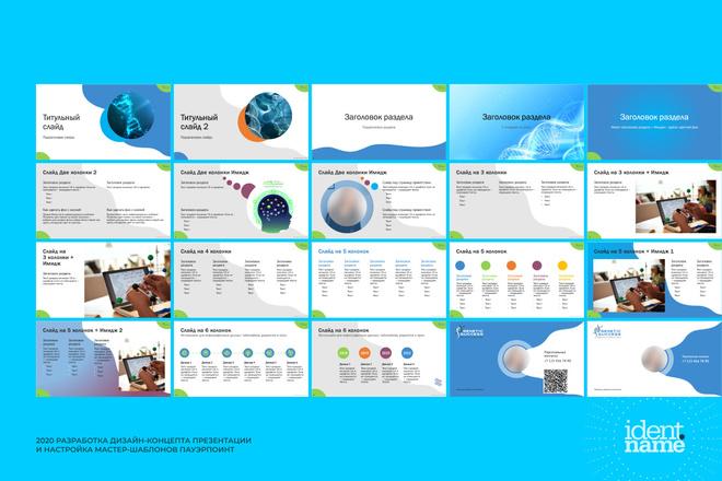 Концепт-дизайн, шаблон презентации 2 - kwork.ru