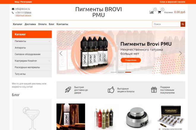 Профессионально создам интернет-магазин на insales + 20 дней бесплатно 22 - kwork.ru