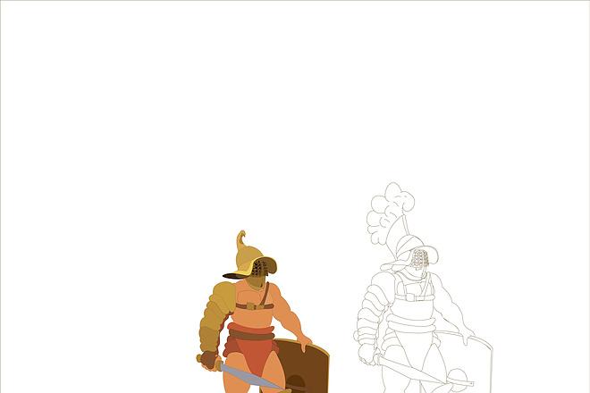 Нарисую исторического персонажа в векторе 5 - kwork.ru