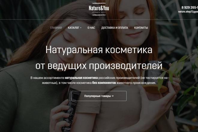 Интернет-магазин на Тильда под ключ 12 - kwork.ru