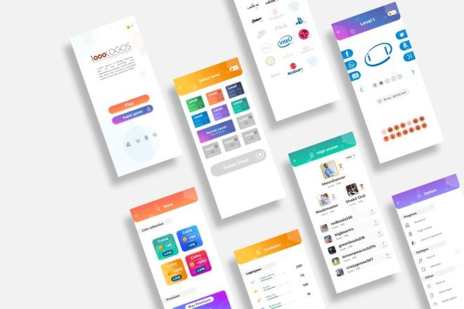 UI-UX Дизайн мобильного приложения под iOS или Android 4 - kwork.ru