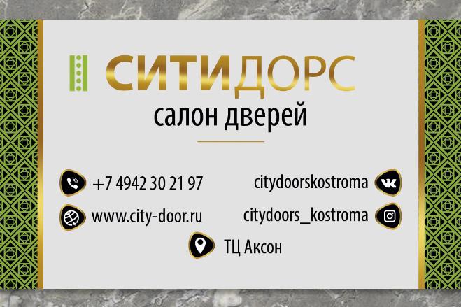 Визитка 36 - kwork.ru