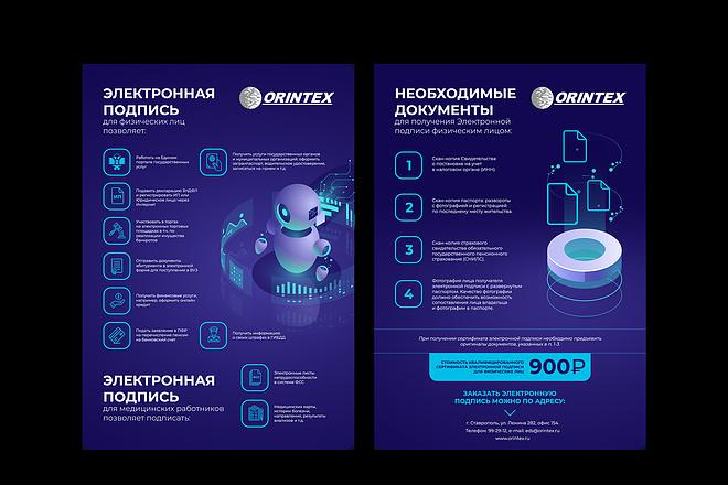 Изготовление дизайна листовки, флаера 40 - kwork.ru