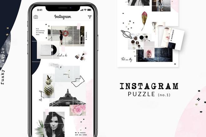 25000 шаблонов для Instagram, Вконтакте и Facebook + жирный Бонус 20 - kwork.ru