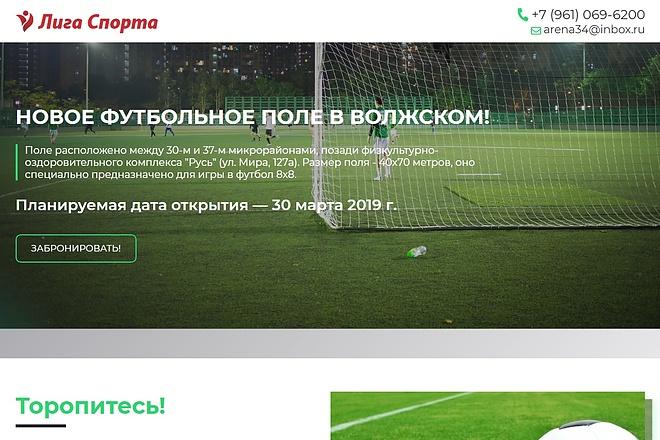 Сайт под ключ. Landing Page. Backend 194 - kwork.ru