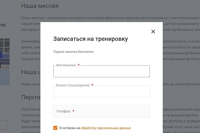 Любые доработки верстки CSS, HTML, JS 2 - kwork.ru