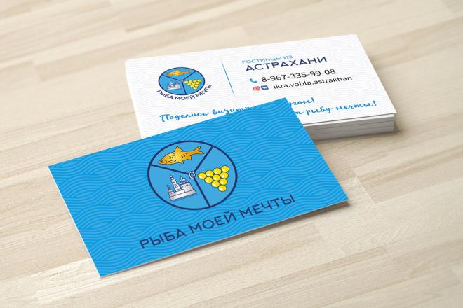Дизайн визитки с исходниками 100 - kwork.ru