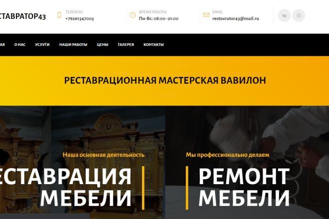 Скопирую Landing Page, Одностраничный сайт 8 - kwork.ru