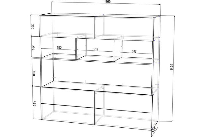 Конструкторская документация для изготовления мебели 103 - kwork.ru