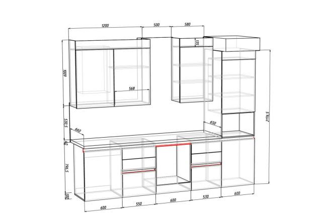 Конструкторская документация для изготовления мебели 48 - kwork.ru