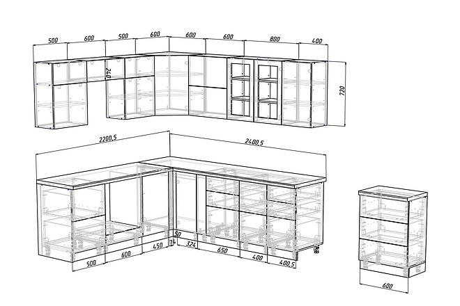 Конструкторская документация для изготовления мебели 66 - kwork.ru