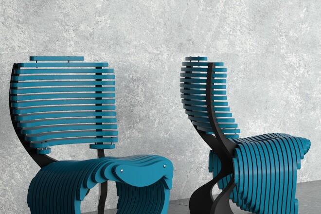 3D моделирование и визуализация мебели 20 - kwork.ru