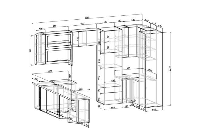 Конструкторская документация для изготовления мебели 135 - kwork.ru