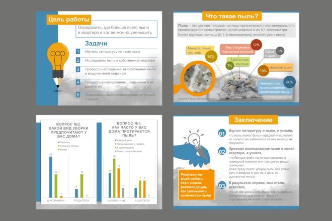 Дизайн или редакция вашей презентации в Power Point 5 - kwork.ru