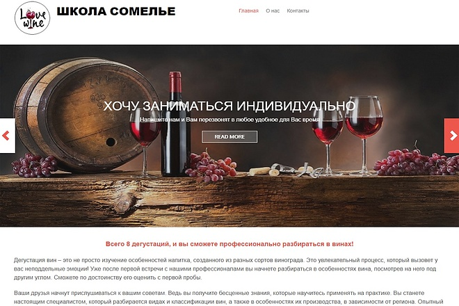 Создам сайт-визитку недорого 23 - kwork.ru