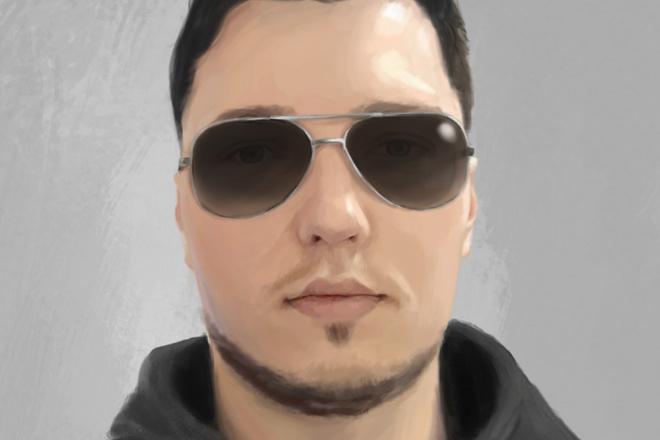 Рисую цифровые портреты по фото 5 - kwork.ru