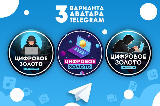 Оформление Telegram 37 - kwork.ru