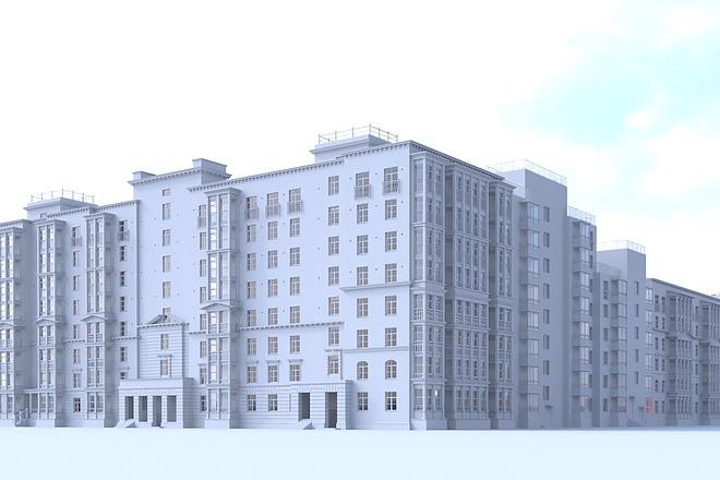 Архитектурное 3d моделирование 12 - kwork.ru