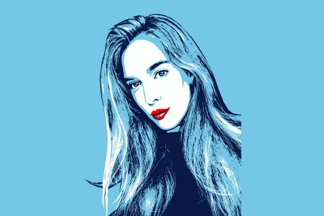 Качественный поп-арт портрет по вашей фотографии 12 - kwork.ru