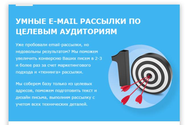 Дизайн Email письма, рассылки. Веб-дизайн 17 - kwork.ru