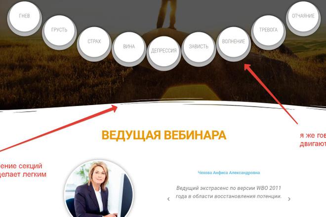 Лендинг для любых целей на Wordpress 33 - kwork.ru